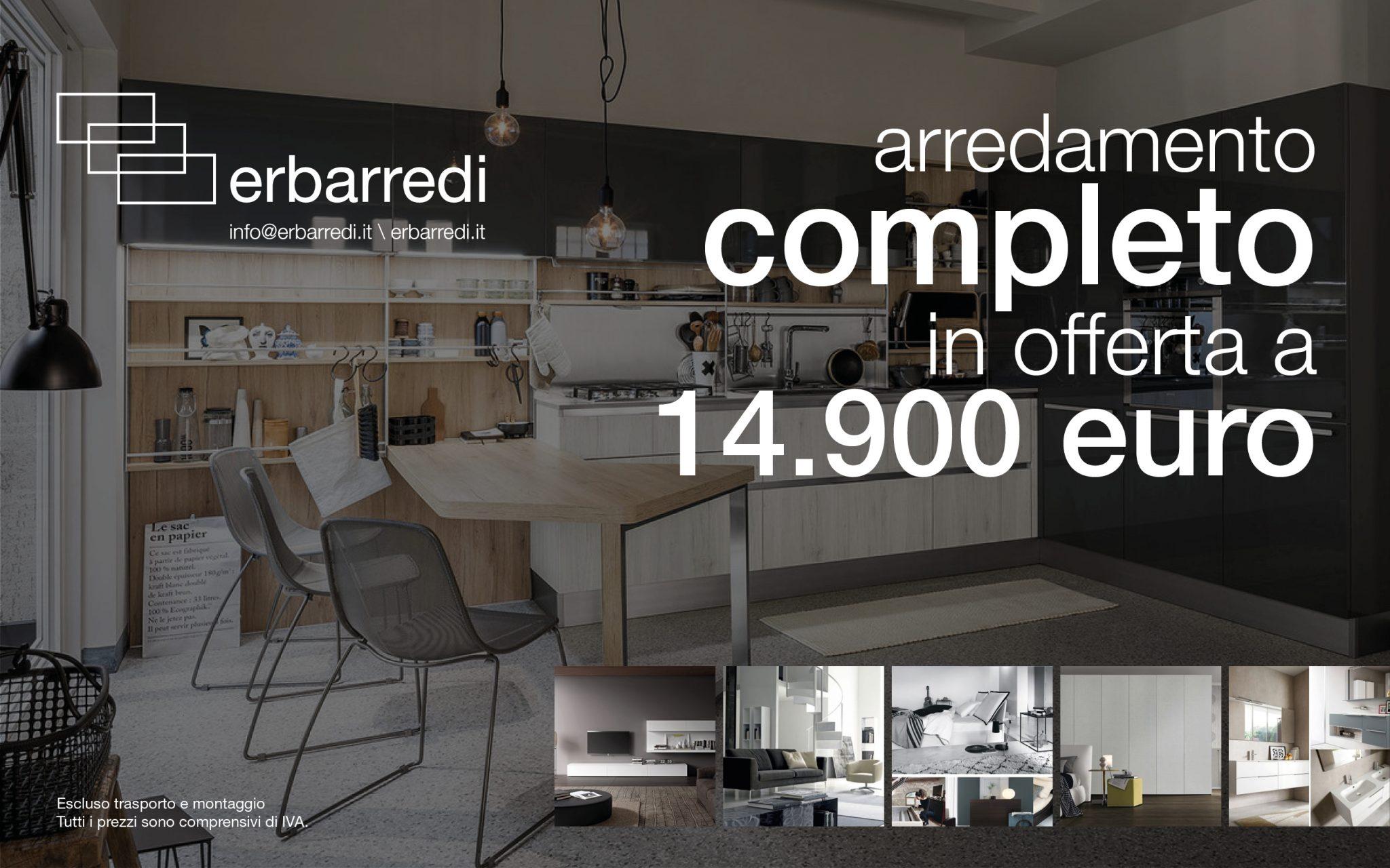 Promozione appartamento completo a soli euro for Arredamento appartamento completo